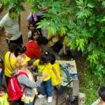 Τα 4χρονα & 5χρονα παιδιά, για 5 περίπου εβδομάδες ασχολούνταν με ένα πολύ ενδιαφέρον project ΄΄ Ο οικισμός΄ ΄ .